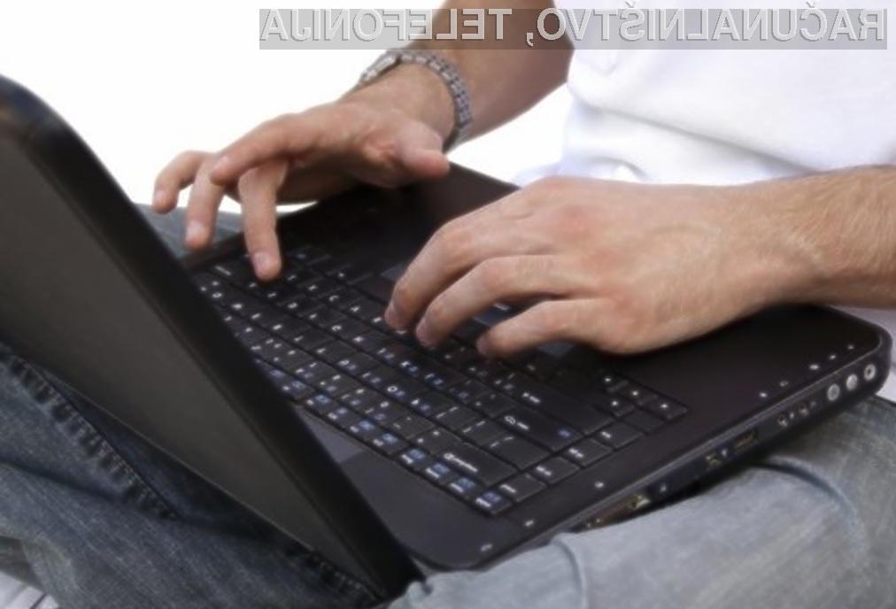 Danes je bilo od svetovnega spleta odrezanih okoli 2.500 slovenskih uporabnikov.