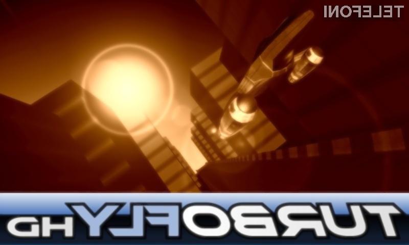 Zmagovalna igra Turbo Fly HD za operacijski sistem Bada.