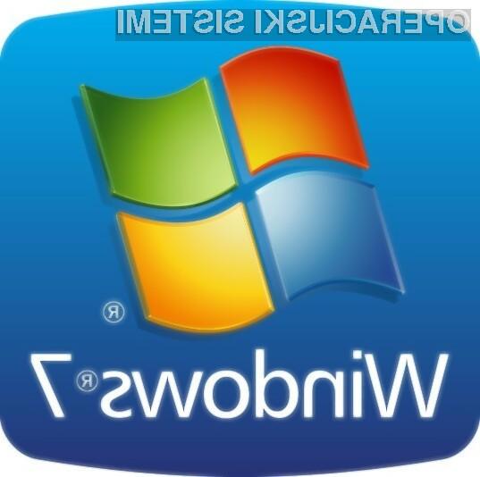Windows 7 na polovici računalnikov!