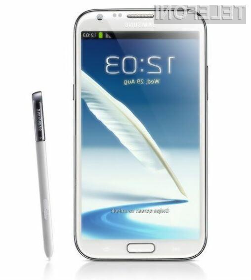 Samsung Galaxy Note 2 združuje prednosti pametnih mobilni telefonov in tabličnih računalnikov.