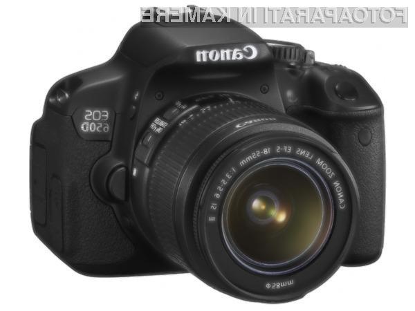 Če si lastite digitalni fotoaparat Canon EOS 650D nemudoma preverite, če je z njim vse v redu!