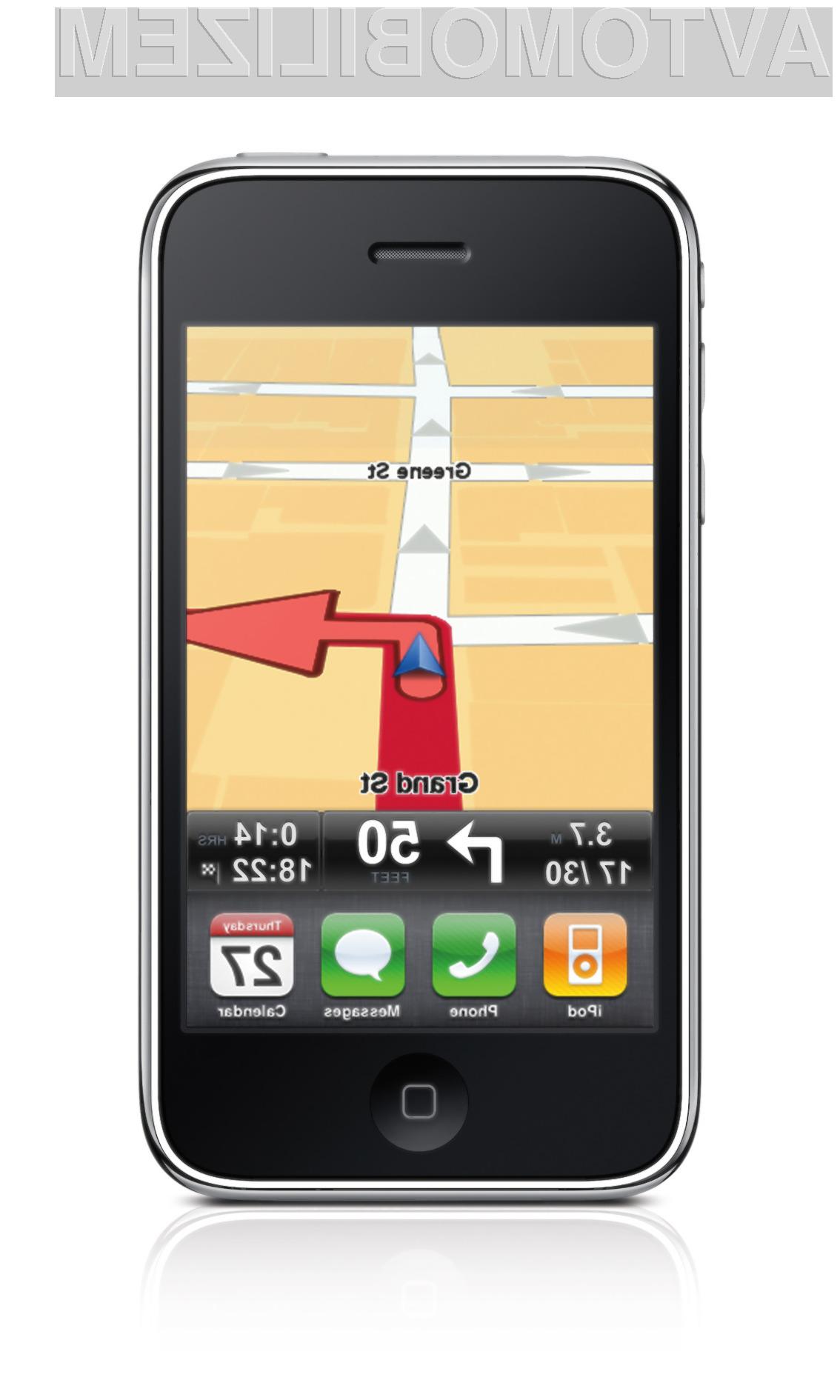 Navigacija TomTom bo kmalu na voljo tudi za pametne telefone Android.