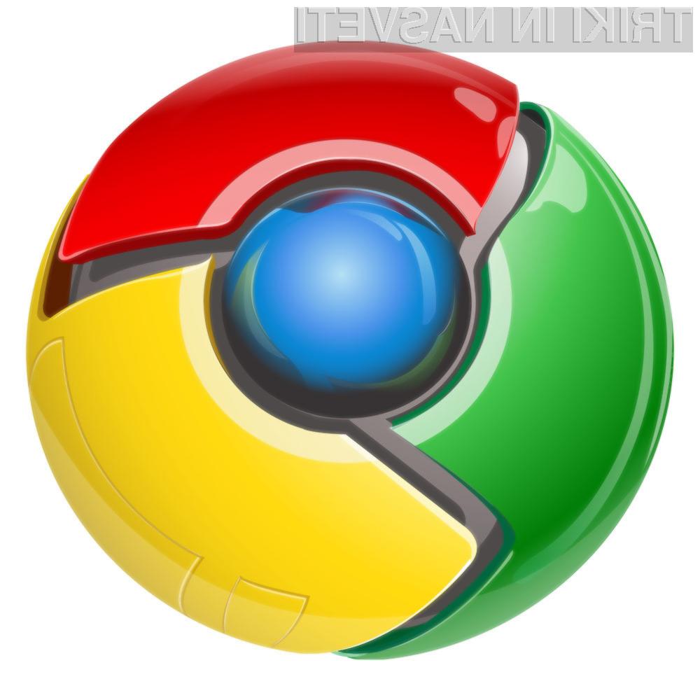 Chrome je trenutno najbolj priljubljen spletni brskalnik.
