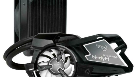 Accelero Hybrid bo grafične kartice ohladil s pomočjo vode in zraka.
