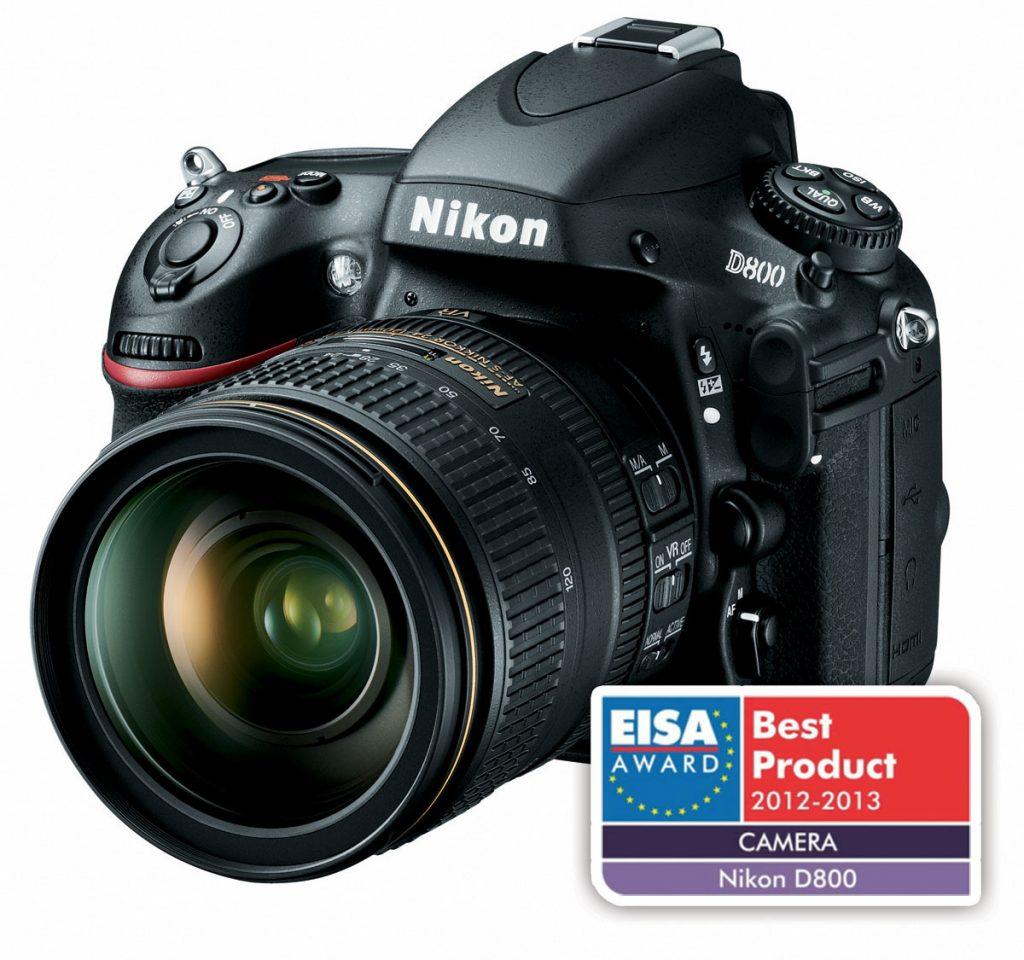 Nagrada EISA Nikonu D4 in D800