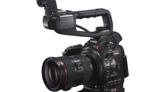 EOS C100 je priročna majhna kamera, v kateri pa se skrivajo karakteristike profesionalnih kamer.