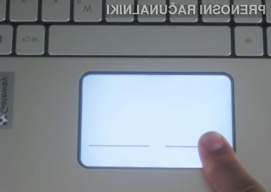 Apple bi lahko že kmalu predstavil prenosnike z osvetljenimi drsniki.