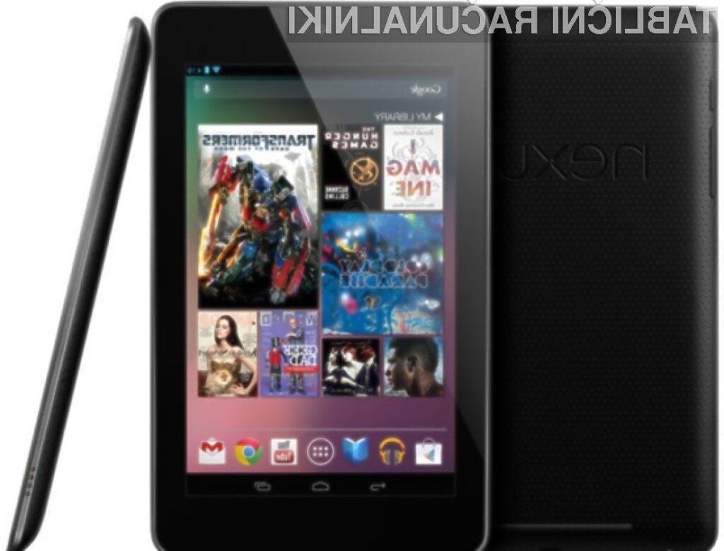 Tablico Google Nexus 7 je na Stari celini trenutno mogoče kupiti le v Franciji, Nemčiji in Španiji.