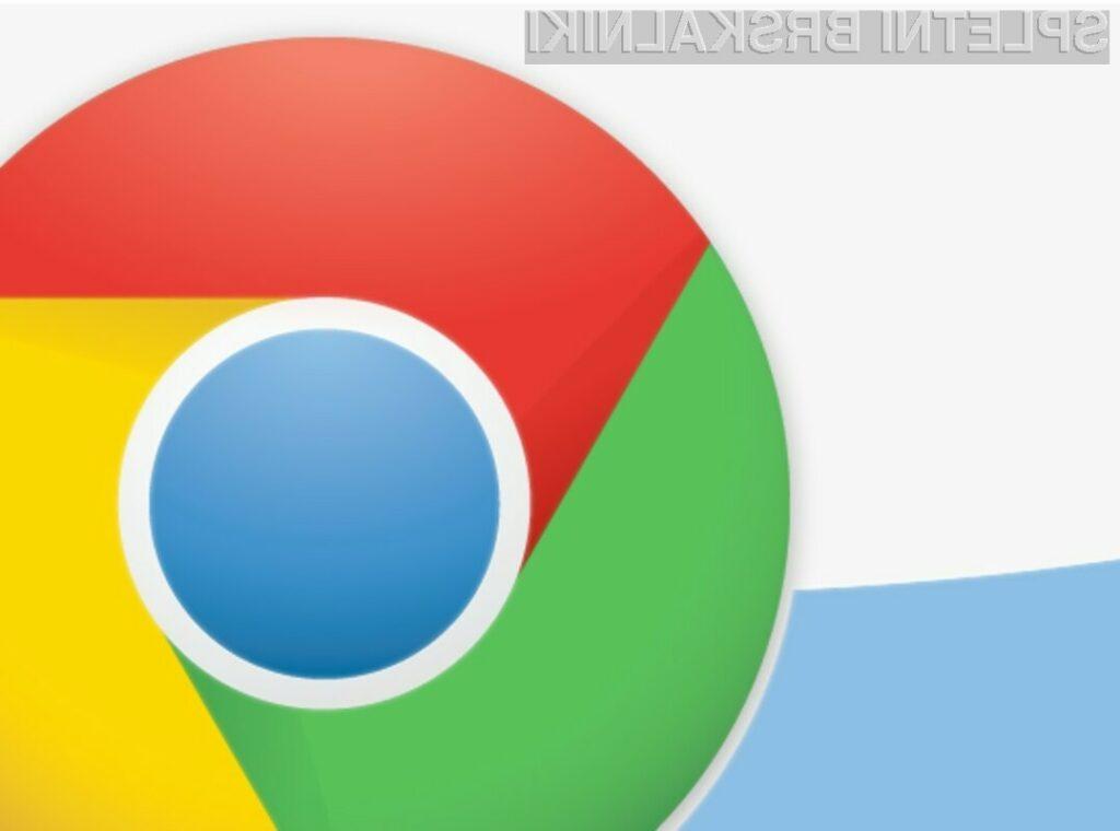 Na brskalniku Chrome 21 lahko uporabljamo spletne kamere in mikrofone brez nameščanja programskih dodatkov.