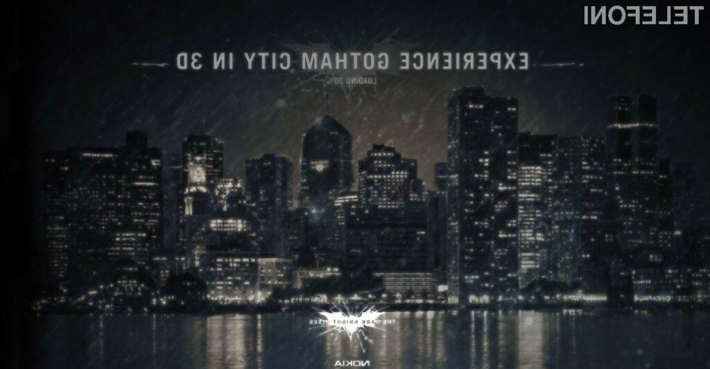 Gotham City si lahko odslej ogledamo tudi preko posebnega Nokijinega zemljevida.