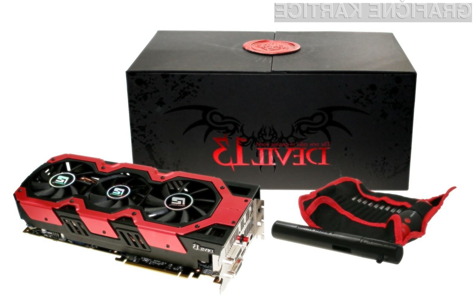 Podjetje PowerColor je predstavilo novo različico grafične kartice Devil 13 z kar dvema grafičnima procesorjema Tahiti XT.