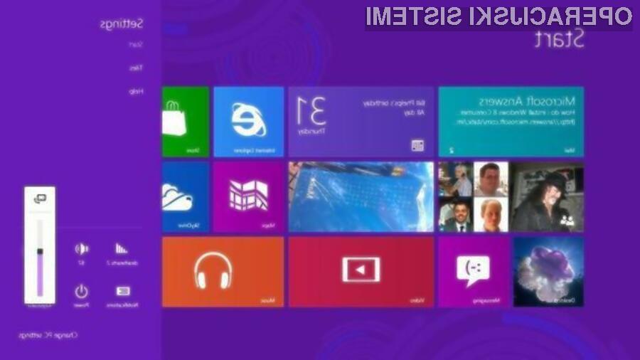 Končna različica operacijskega sistema Windows 8 je že na voljo za prenos!