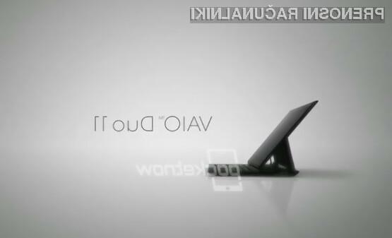 Sonyjevega hibrida VAIO Duo 11 lahko pričakujemo že v oktobru.