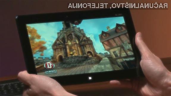 Igre z grafičnim pogonom Unreal Engine 3 bo odslej mogoče igrati tudi na tabličnih računalnikih.