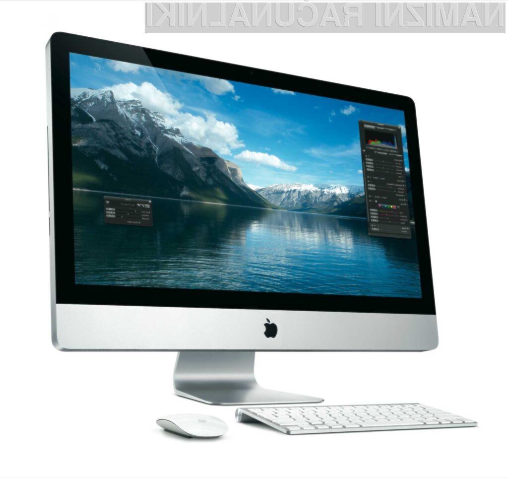 Novi iMaci se bodo lahko pohvalili z zadnjo generacijo Intelovih procesorjev Ivy Bridge.
