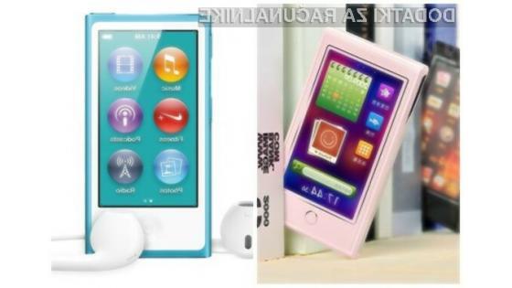 Je Applu pri pripravi novega predvajalnika iPod Nano preprosto zmanjkalo inovativnosti?