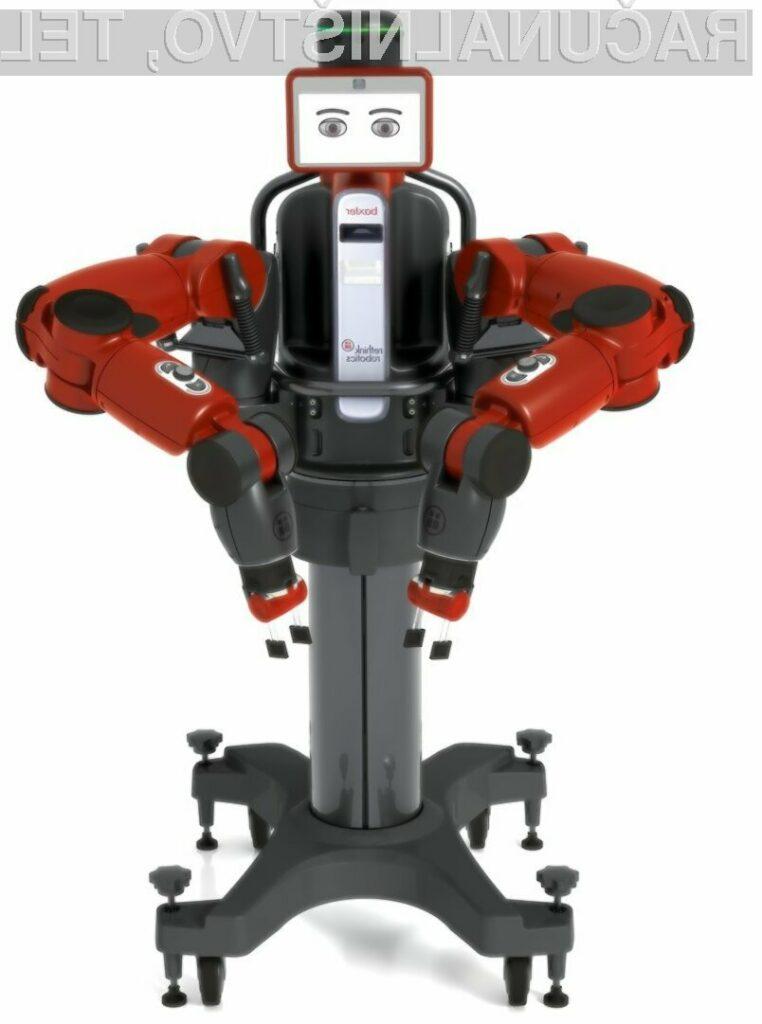 Baxter je najnovejši industrijski robot, ki lahko opravlja najrazličnejša proizvodna dela.