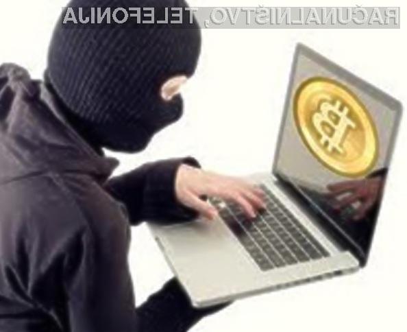 """Kriminalci v navidezni denarni valuti Bitcoin vidijo svojo """"prihodnost""""."""