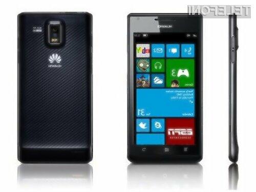 Svoj mobilnik z operacijskim sistemom Windwos Phone 8 bo kmalu predstavil tudi kitajski Huawei.