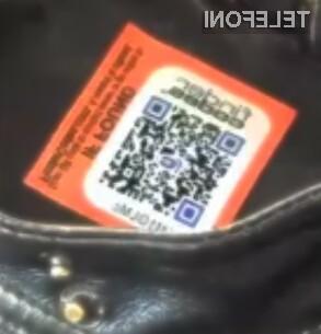 Bi vi lastniku vrnili izgubljen predmet, če bi bil ta opremljen s QR kodo?