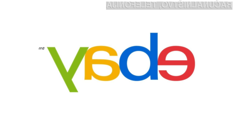 eBay je predstavil svoj nov logotip, ki je precej klasičnega dizajna.