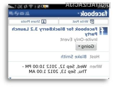 Uporabniki mobilnih telefonov BlackBerry so končno dobili dostojno posodobitev mobilne aplikacije za Facebook.