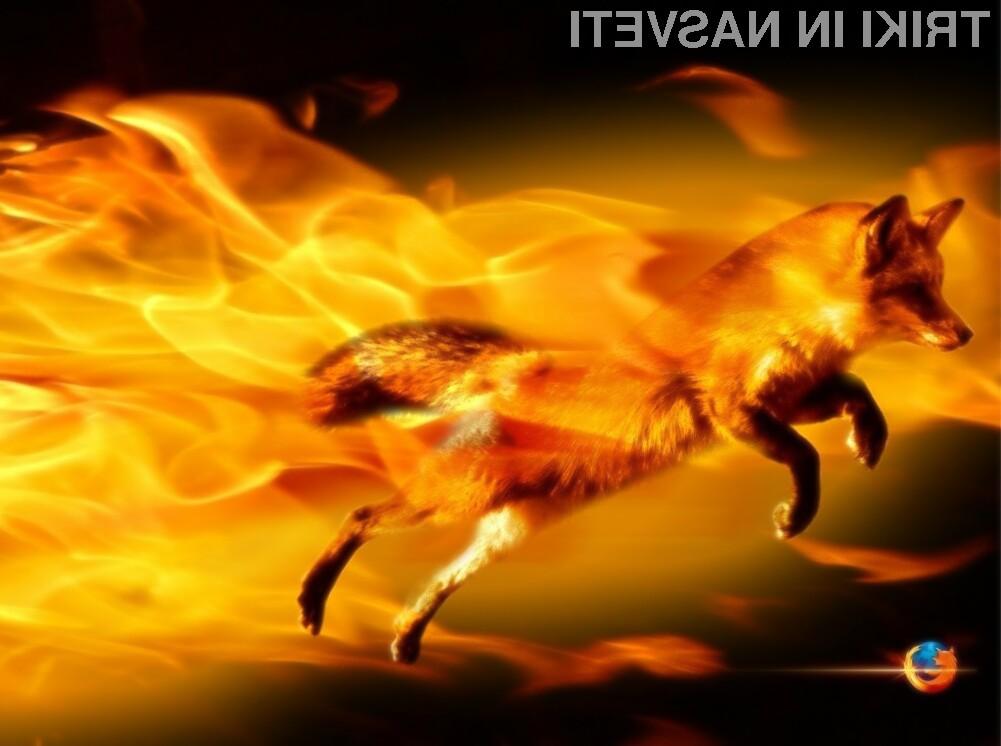 Odpiranje spletnih strani v Firefoxu je lahko še hitrejše.