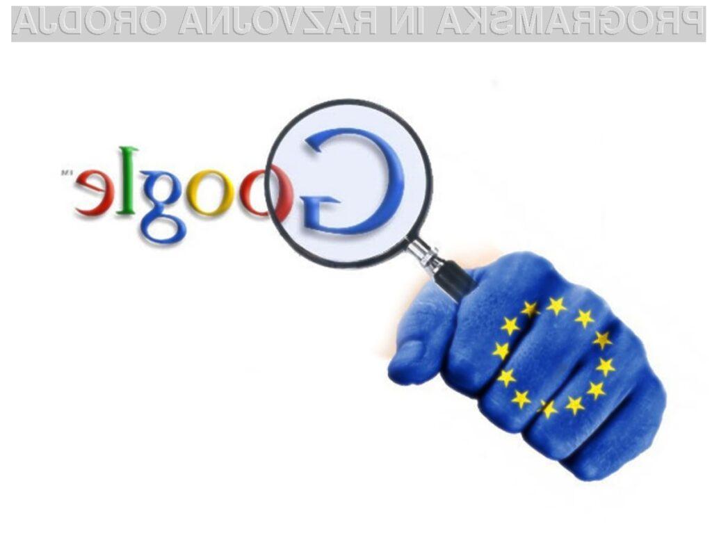 Google v primeru obsodbe lahko doleti kazen v višini 3 milijard evrov!