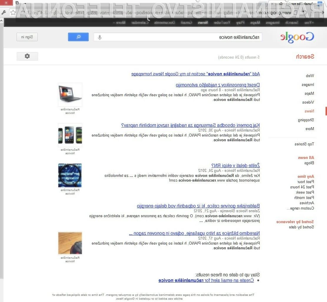 Google je napovedal, da se bo proti plačilu »odškodnine« boril z vsemi sredstvi!