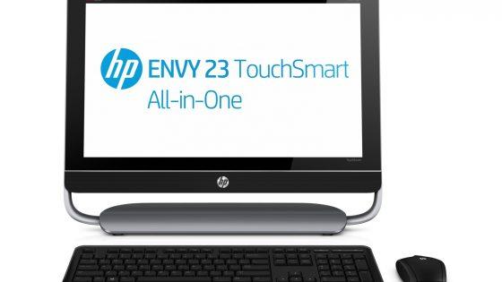 HP ENVY 23 integrirani računalnik s podporo za dotik
