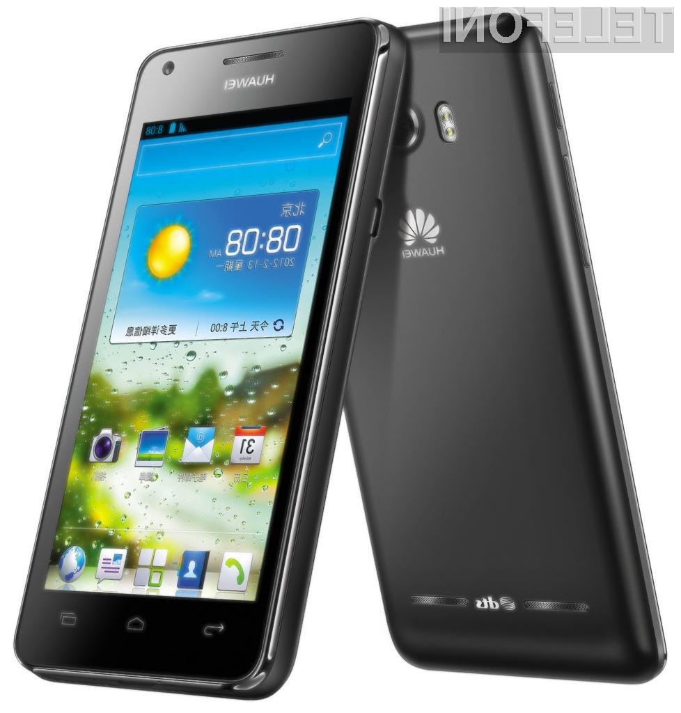 Huawei je na sejmu IFA predstavil precej zanimivo napravo Ascend G600, ki bo uporanbikom na voljo že v decembru.