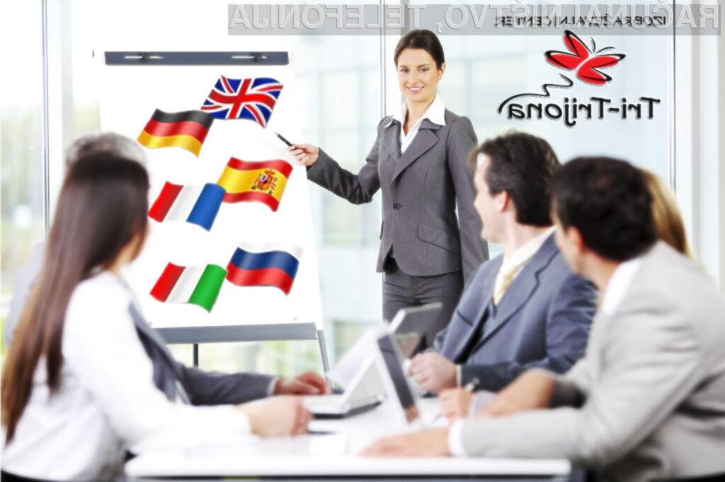 Z znanjem jezikov smo uspešnejši!