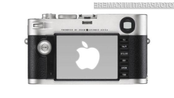 Cena fotoaparata, ki ga bo oblikoval sloviti Jonathan Ive, bo segla v višave.
