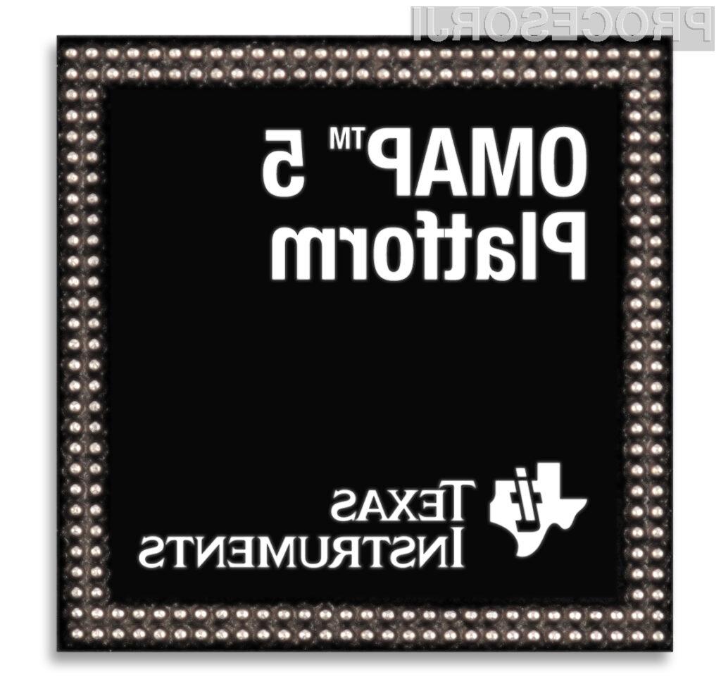 Mobilnega procesorja OMAP5 očitno ne bomo dočakali.