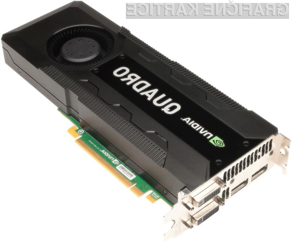 Nvidia Quadro K5000 bo kmalu na voljo tudi za računalnike Mac Pro.