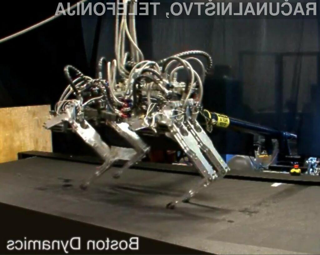 Trenutno najhitrejši nožni robot na modrem planetu.