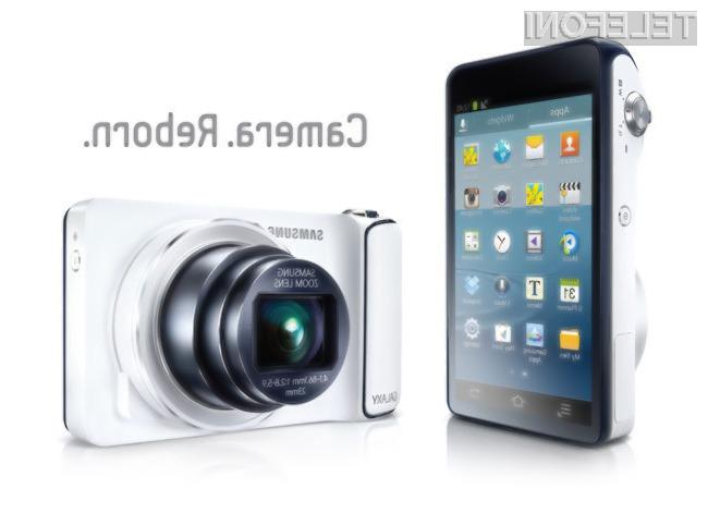 Težko pričakovana Samsung Galaxy Camera se bo odlično izkazala tudi kot igralna konzola