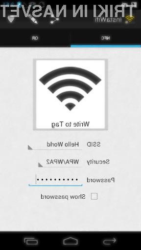 Brezplačna mobilna aplikacija InstaWifi znatno poenostavi deljenje zaščitene povezave Wi-Fi s prijatelji in z družinskimi člani.