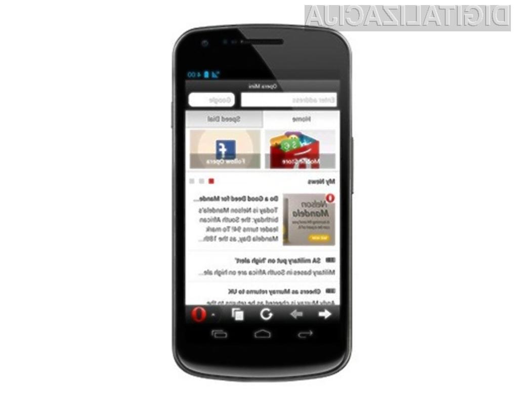 Mobilni brskalnik Opera Mini 7.5 opravlja tudi vlogo agregatorja za družbena omrežja in spletne novice.