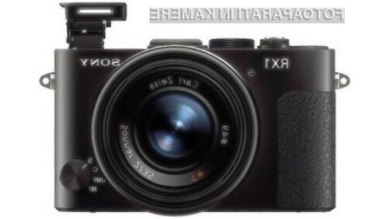 Sony RX1 bo zlahka pometel s konkurenco!