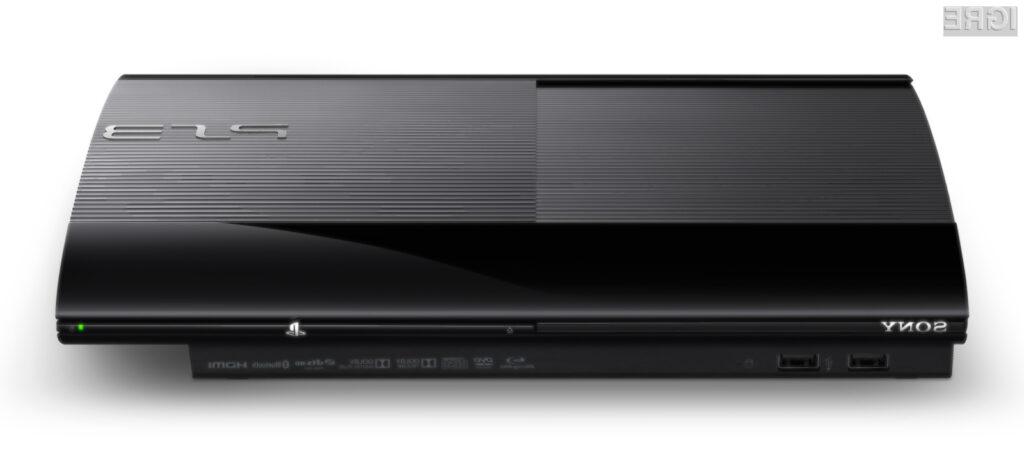 Ohišje prenovljene konzole Playstation 3 je videti precej elegantno.
