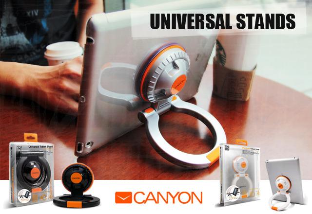 Izredno uporabno in univerzalno stojalo za tablične računalnike proizvajalca Canyon