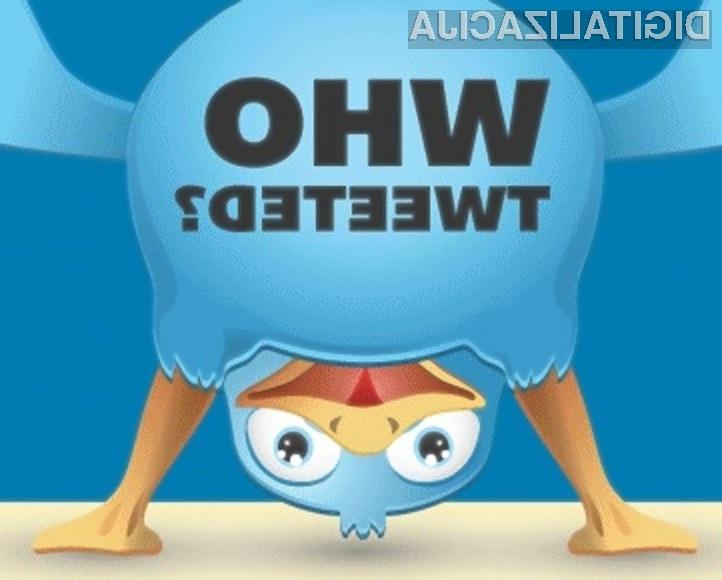 Tudi na družabnem omrežju Twitter ni vse zlato, kar se sveti!