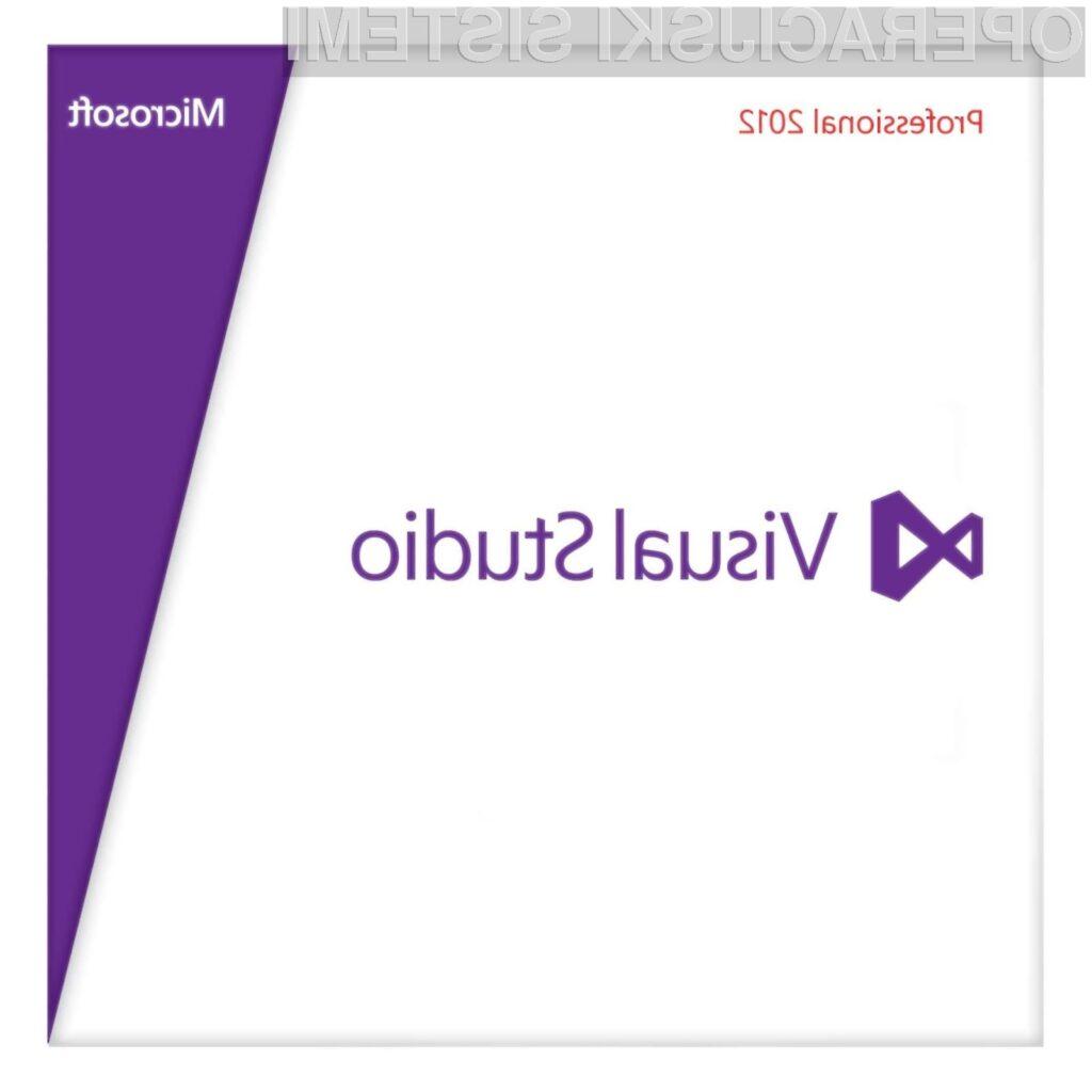 Novica o novem paketu Visual Studio 2012 bo zagotovo najbolj razveselila vse programerje.