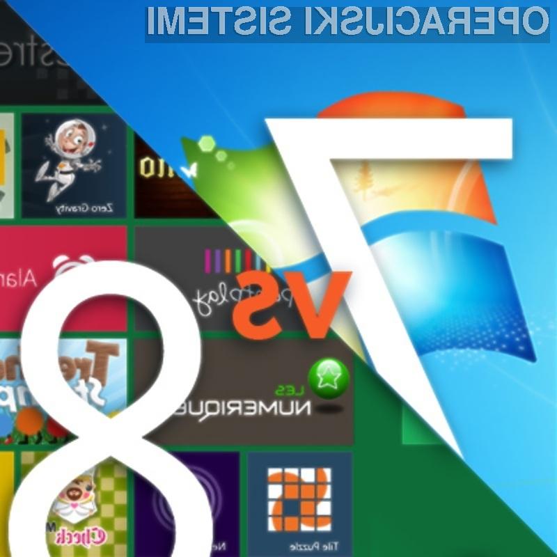 Boste Okna 7 zamenjali za Windows 8?