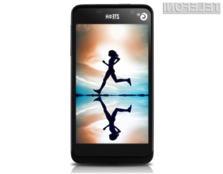 Mobilnik ZTE U950 ponuja odlično razmerje med zmogljivostjo in ceno.