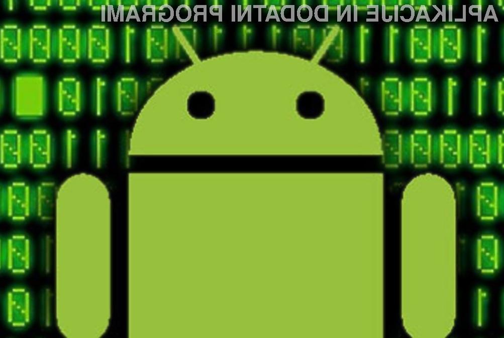 Uporabnike mobilnih naprav Android naj bi pred škodljivimi programskimi kodami ščitila kar aplikacija za prenos mobilnih aplikacij.