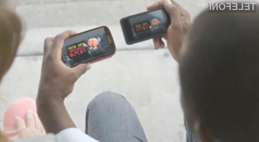 Galaxy S III ima precej večji zaslon kot vsi dosedanji iPhoni.