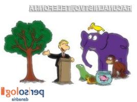 Da bo pošteno, dobite vsi enako nalogo. Splezajte na drevo!«