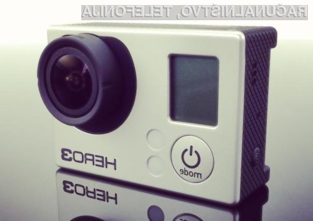 Digitalni kamkorder GoPro Hero 3 za razmeroma ugodno ceno ponuja veliko.